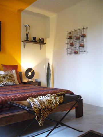 Chambre Ethnique chambre ethnique à st cyr sur mer - décoration d'intérieur et